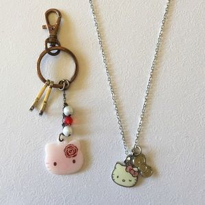 Sanrio Hello Kitty Necklace and Key chain